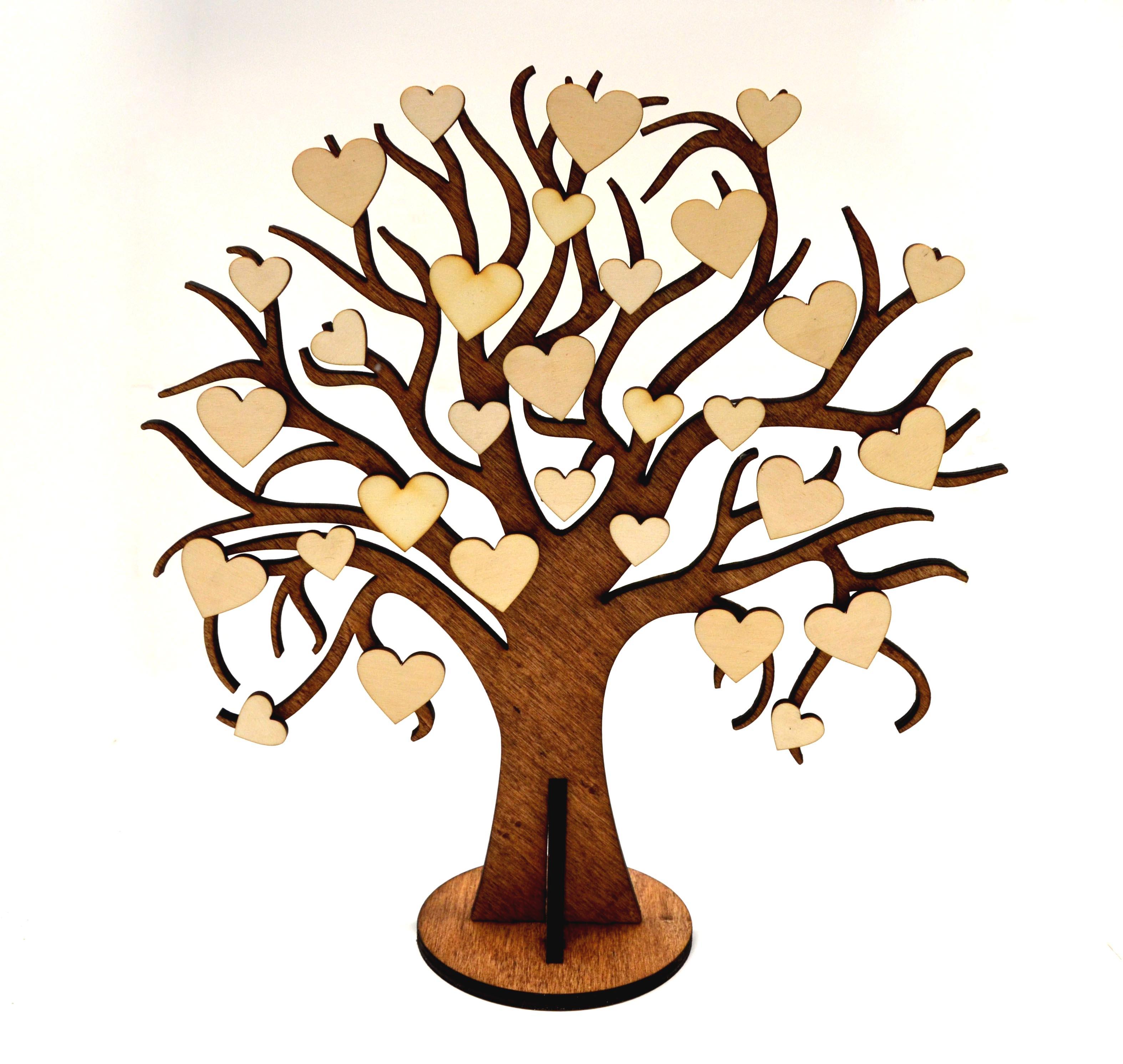 Svatebni Strom Prani Lasky Dreveny